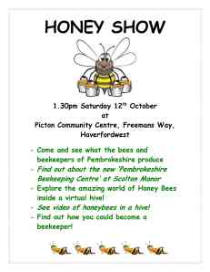HONEY SHOW Notice 2013