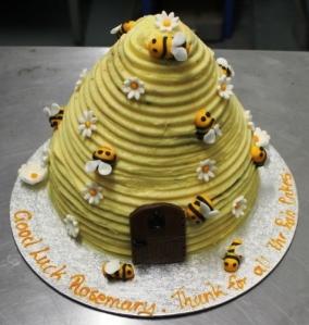 Rosemarys farewell cake